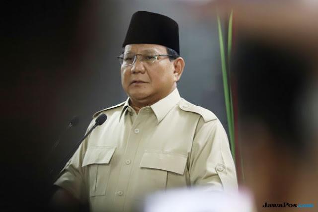 Elektabilitasnya Bersaing Ketat dengan Jokowi, Begini Reaksi Prabowo