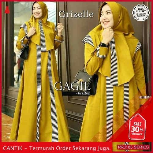 Jual RRJ183D245 Dress Grizelle Syari Wanita Ik Terbaru Trendy BMGShop