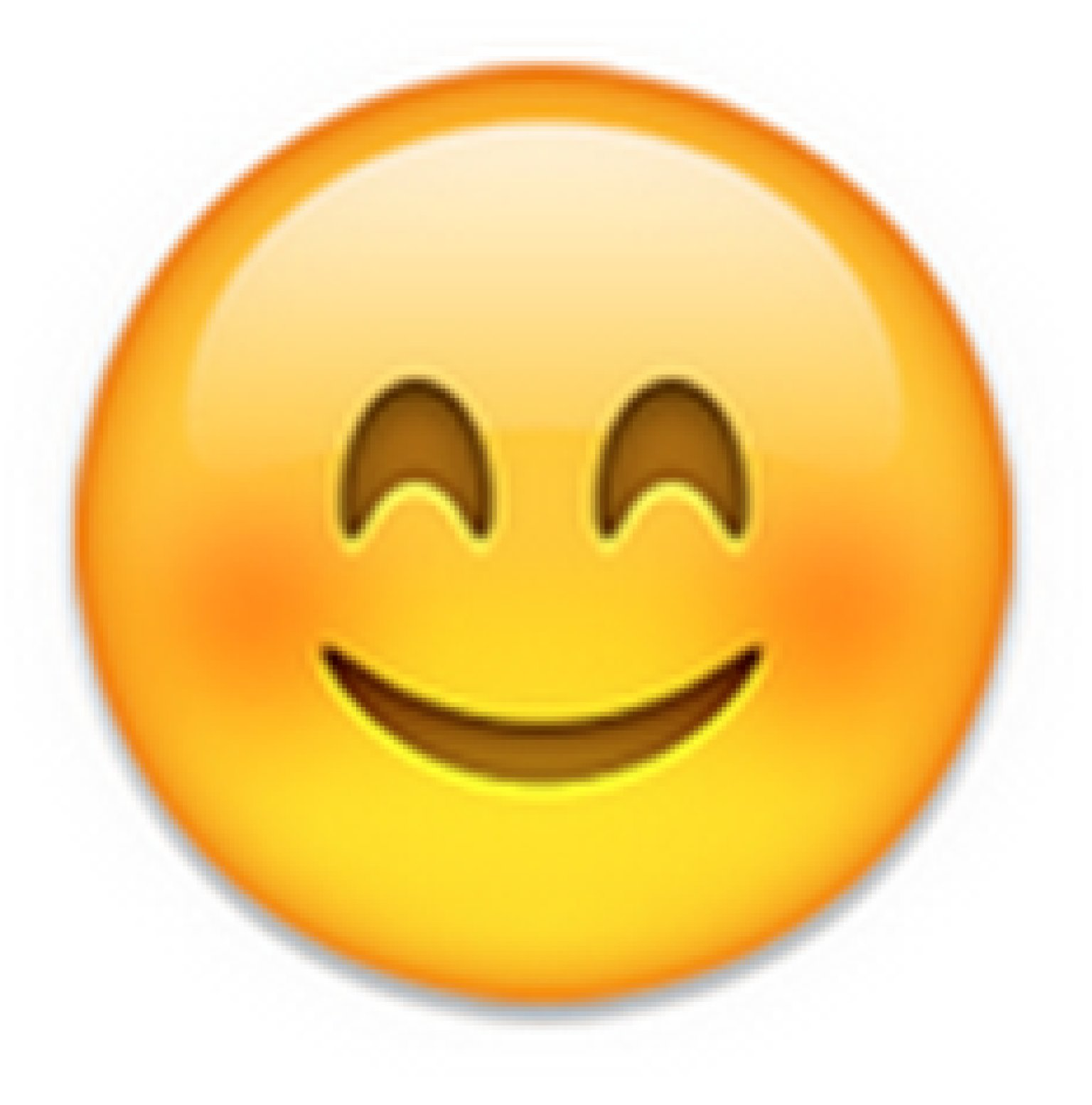 My favourite emojis are the word of the year of course i use it in every conversation and i really love the cute face which is smiling and its face is