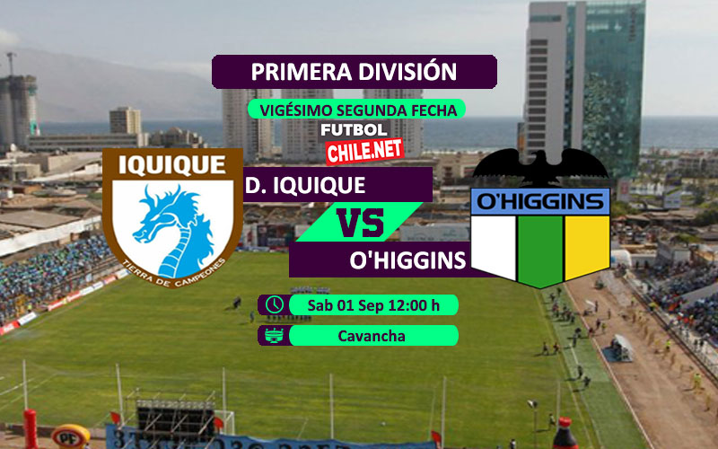 PREVIA: Deportes Iquique vs O´Higgins