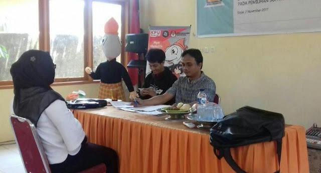 Calon Anggota PPS Ikuti Tes Wawancara di KPU Sinjai