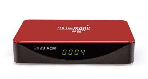 TocomMagic Free S929 ACM,H265,Novo Modelo e Lançamento da Marca