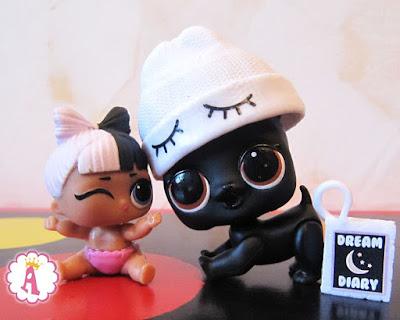 Маленькая кукла LOL Surprise с животным ЛОЛ собачкой