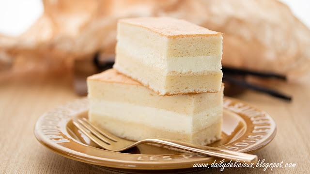 Dailydelicious Vanilla Chiffon Cake With Swiss Meringue