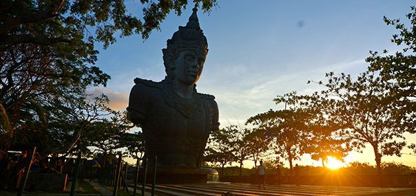 Bali Cultural Park Garuda Wisnu Kencana (GWK) - Bali, Uluwatu, Cliff, Temple, Hindu, Monkey forest
