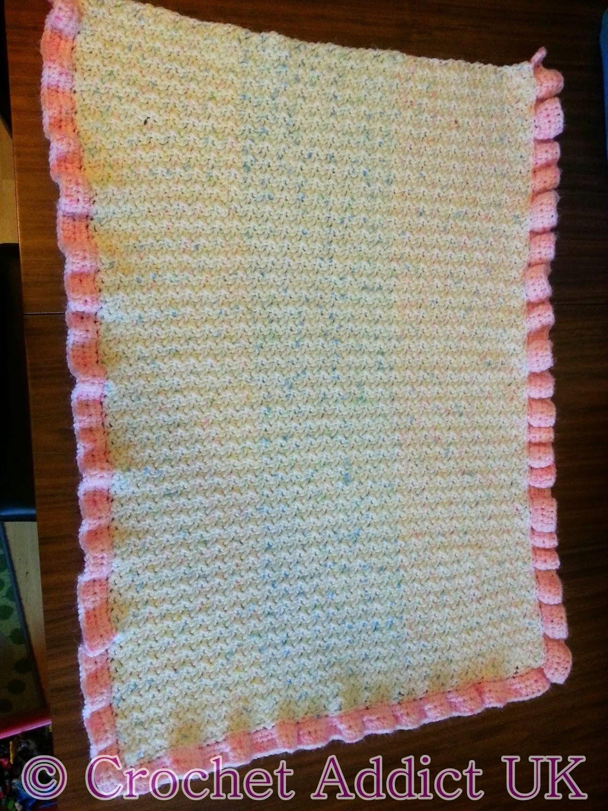 Baby Pram Blanket Free Crochet Pattern Crochet Addict Uk