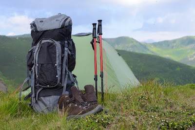 Reykjavik's best camping rental equipment stores rent tents, hiking shoes, hiking poles like these