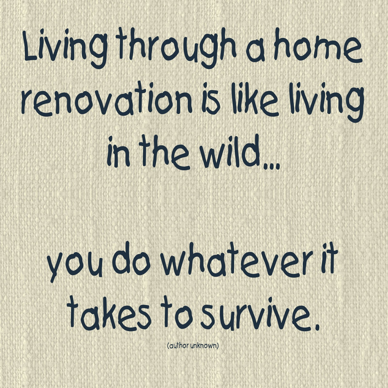 Quotes About Home Renovation
