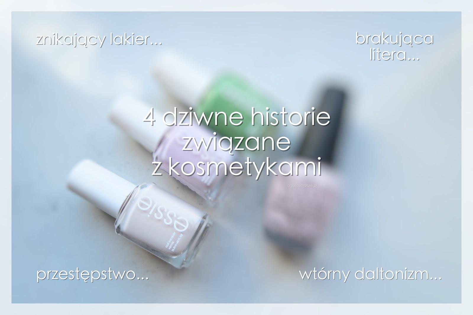 Moje 4 dziwne kosmetyczne historie