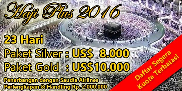 biaya haji plus