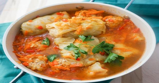 Chicken Cabbage Rolls (Golubtsi) Recipe