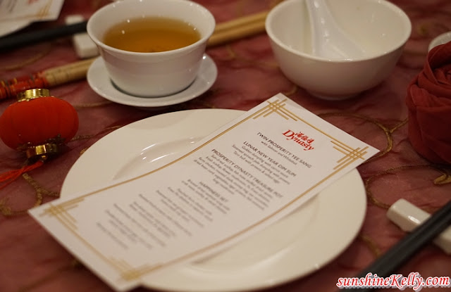 CNY Dining Experience,  Dynasty, Renaissance Kuala Lumpur Hotel, CNY Menu, Chinese New Year Menu, Food, Food Review