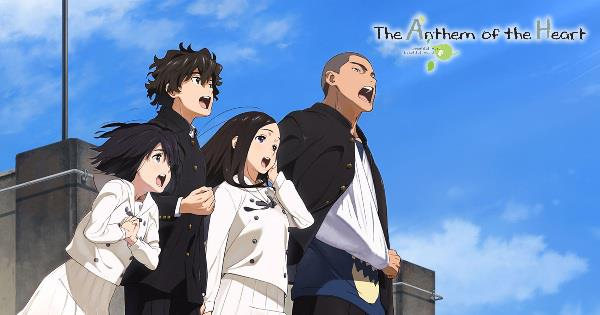 Kokoro ga Sakebitagatterunda. (The Anthem of the Heart) - Anime Buatan Studio A-1 Pictures Terbaik