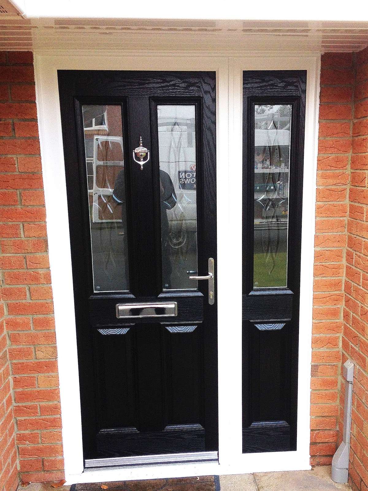 Stunning altmore composite door with matching composite for Composite windows