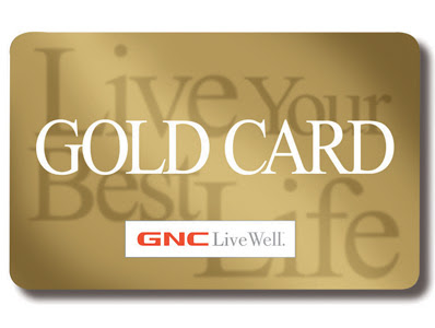 gnc gold card savings