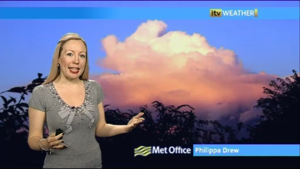 Uk Regional News Caps Philippa Drew Itv Meridian Weather