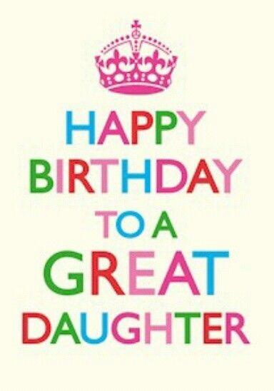 Happy birthday daughter inspirationa