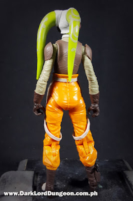 Star Wars Black Series Hera Syndulla Action Figure Back view