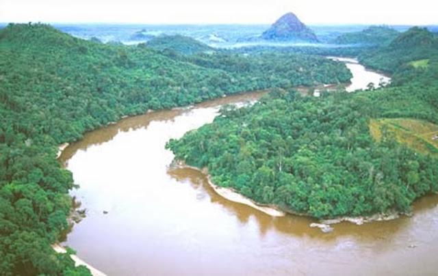 sungai barito -Sungai Terpanjang di Indonesia