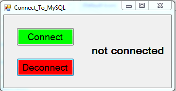 Close MySQL Database Connection With VB.Net