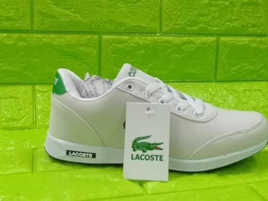 LACOSTE Sneakers for Men & Women (White)