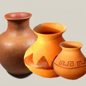 Clay Vases 6