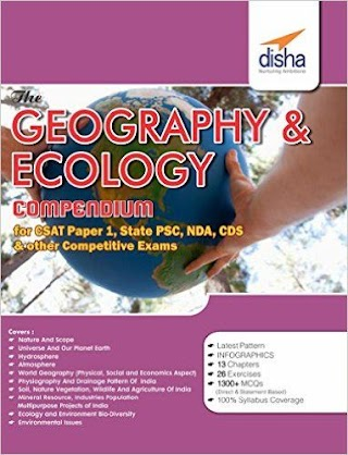 Geography and Ecology Compendium - Disha Publication