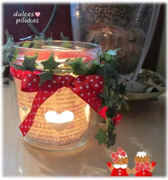 Dulces pilukas decorar con velas reciclar botes de cristal - Decorar con velas ...