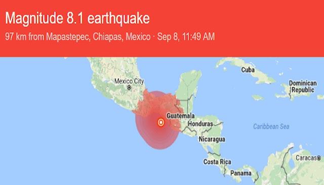 Meksiko Diguncang Gempa Dahsyat 8 SR, Negara Tetangga Waspada Tsunami