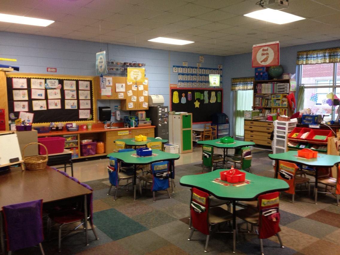 Under the Alphabet Tree Classroom SetUp then  now