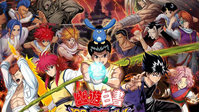 Yu Yu Hakusho 100% Maji Battle será RPG gratuito para celulares