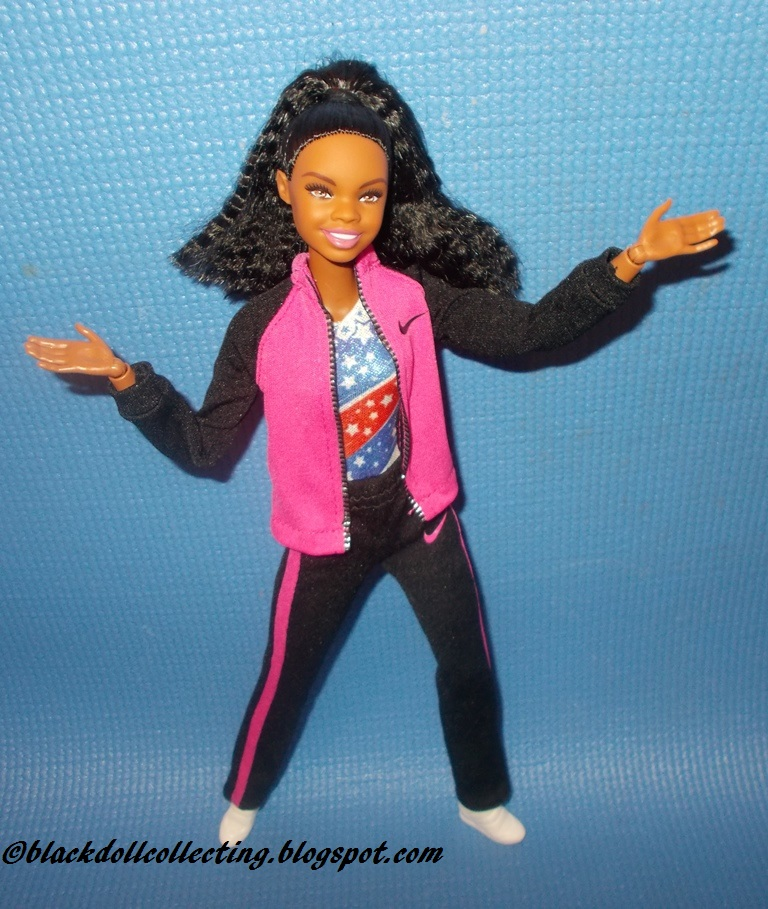 black doll collecting gabby douglas barbie photo review