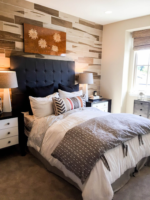 Clean and simple modern neutral bedrooms   sprinkledwithcolor.com