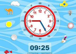 Juegos Para Aprender Las Horas Del Reloj Ceip Curros Enriquez