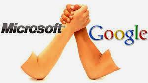 El pacto entre Google y Microsoft