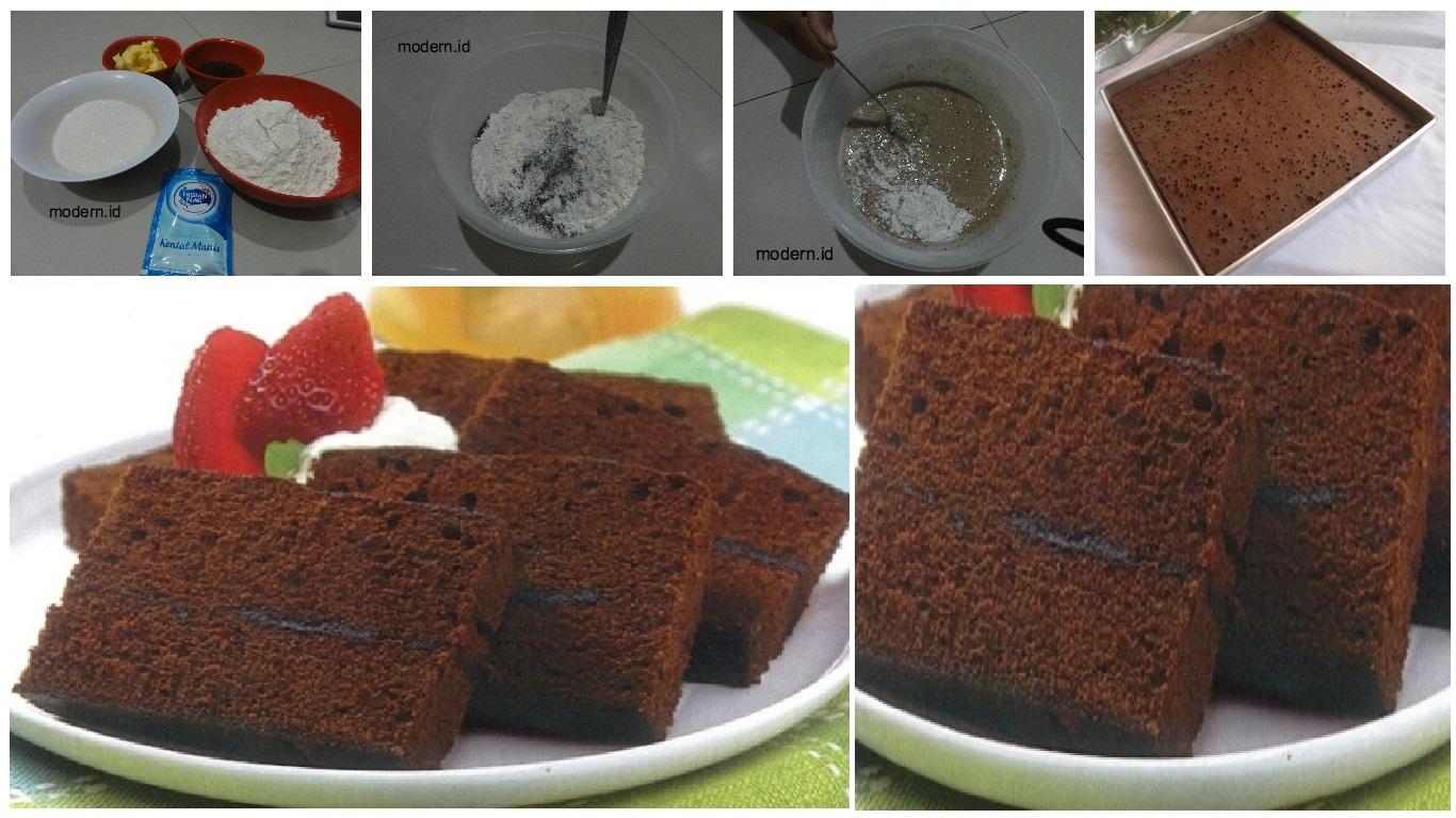 Resep Cheese Cake Kukus Ekonomis: Resep Membuat Brownies Kukus Ekonomis, Cukup 15RB Tanpa