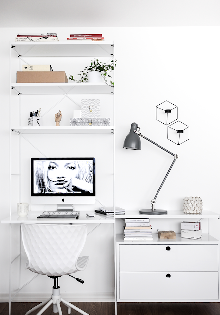 monochrome office