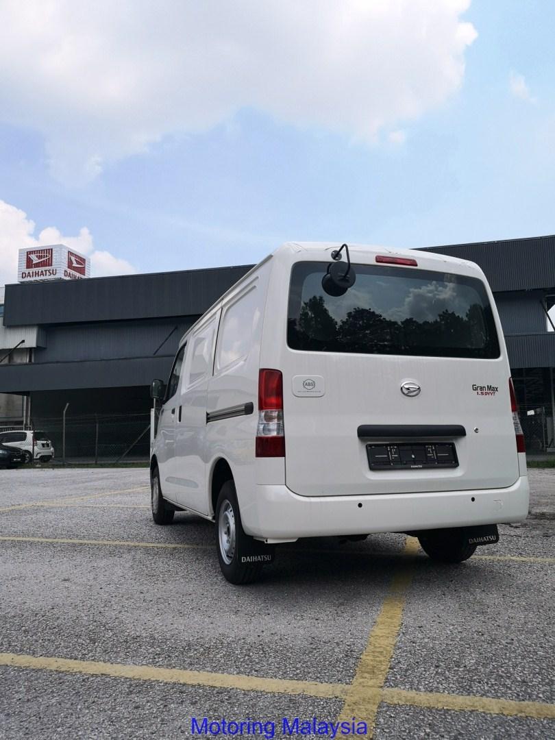Motoring-Malaysia: The Daihastu Gran Max Panel Van with