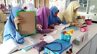 Idea P&P Sains : Lukis Litar Guna Mini Whiteboard