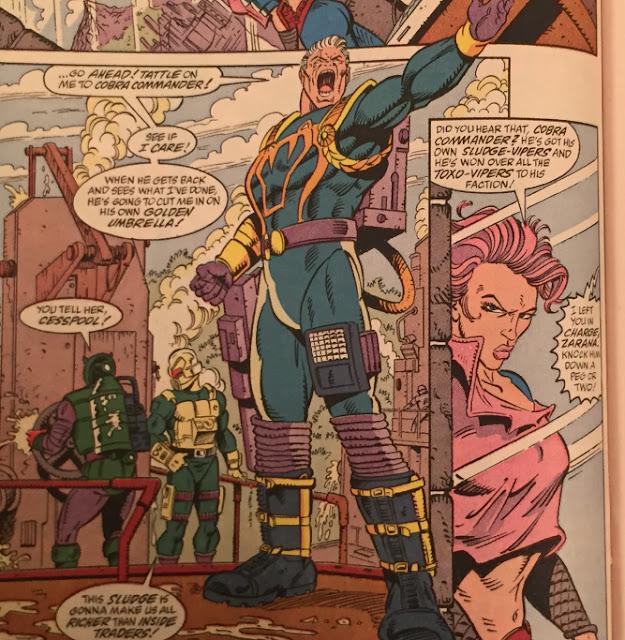 Marvel Comics #123, Cesspool, Sludge Viper, Toxo Viper, Zarana, Eco Warriors