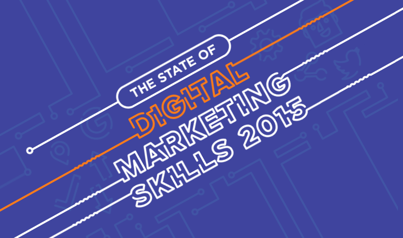 The State Of Digital Marketing Skills 2015 - #Infographic