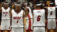 NBA 2K14 Heat Home Jersey