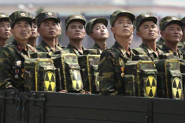 North Korean Diplomatic Corps.