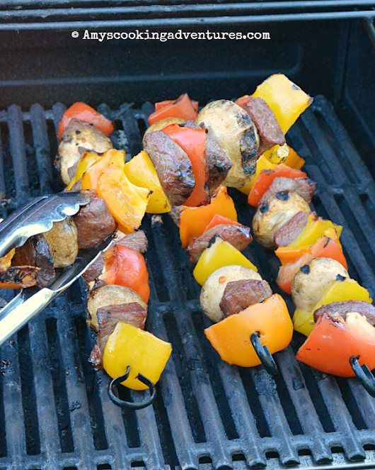 Steak Kebabs #FantasticalFoodFight