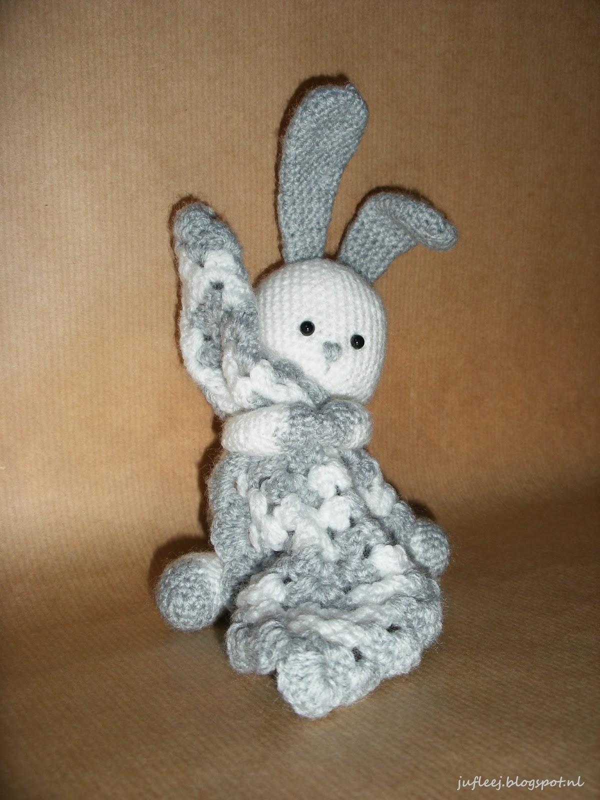 lief knuffeldoekje konijn