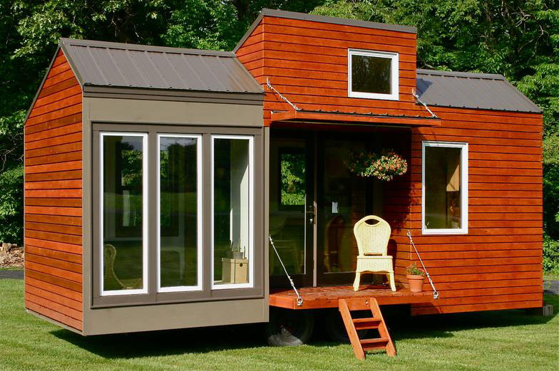 Modern Tiny House For Tall People