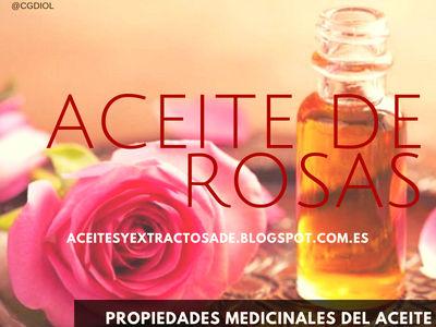 El Aceite Esencial de Rosas tiene Propiedades Medicinales Antidepresivas, Antisépticas,