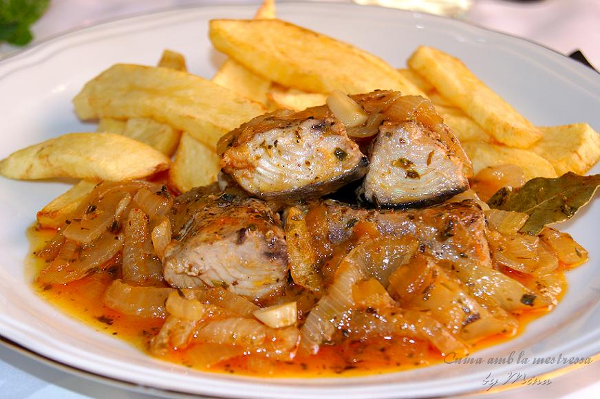 Cocina Con Mina Melva Encebollada