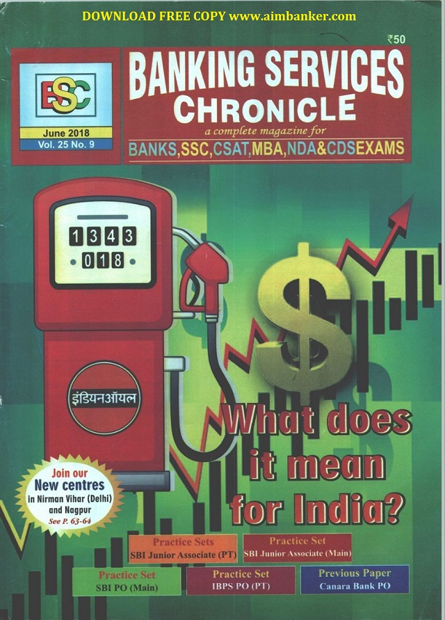 Bsc magazine dec 2017 to june 2018 issue download pdf sbi poclerk hello aimbankerstoday we are sharing bsc banking service chronicles magazine june issue english hindi for upcoming exams these is one of the best fandeluxe Choice Image