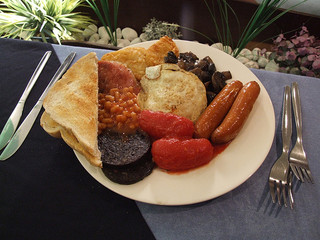 Image: Full English Breakfast, by Phil Campbell, on Flickr